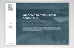 Dynon Legal Website Design.