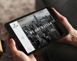 Hattan New York Responsive Website Design