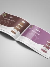 Health food brochure design