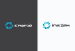 Network Governor Tech Logo Design
