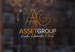 Asset Group Logo on Window