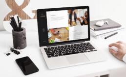 Asset Group website design and development